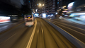 Traveling by tram in night Hong Kong - PhotoDune Item for Sale