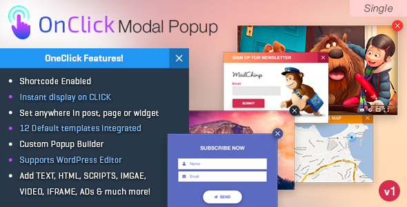 OnClick Modal POPUP - CodeCanyon Item for Sale