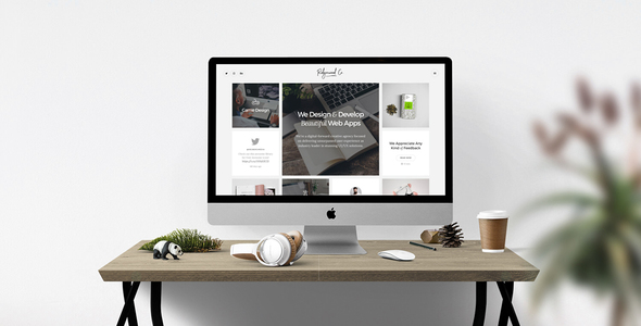 Ridgewood Co. – Responsive HTML5 Portfolio for Creatives