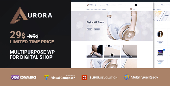 Aurora – Woocommerce Media Market