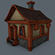 Medieval house. - 3DOcean Item for Sale