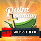 Palm Sunday Flyer 2017 - GraphicRiver Item for Sale