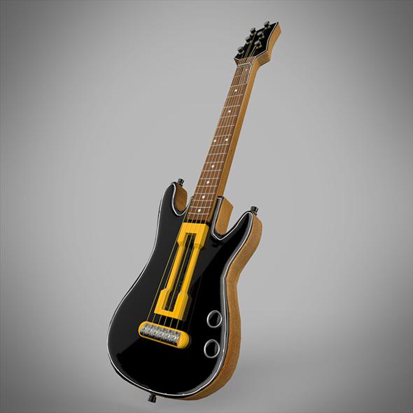 Guitar - 3DOcean Item for Sale