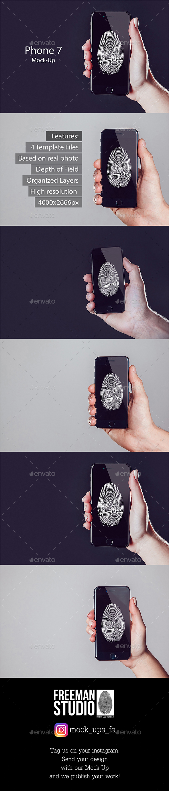 Phone 7 Mock-Up - Mobile Displays