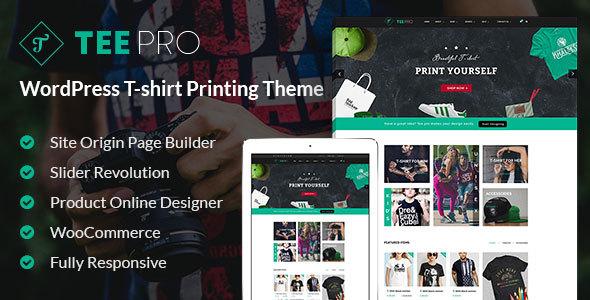 T-shirt Responsive WordPress Theme