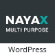 Nayax - Creative & Modern Multipurpose - ThemeForest Item for Sale