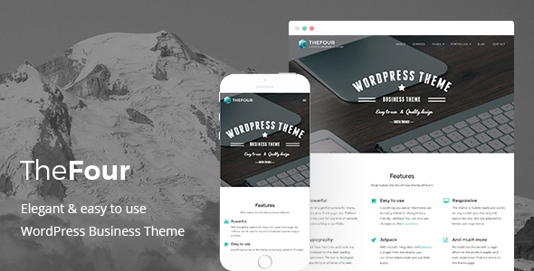 TheFour - WordPress Business Theme