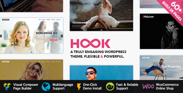 Hook – Superior WordPress Theme