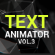 Text Animator vol.3 - VideoHive Item for Sale