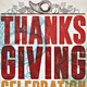 Thanksgiving Celebration - GraphicRiver Item for Sale
