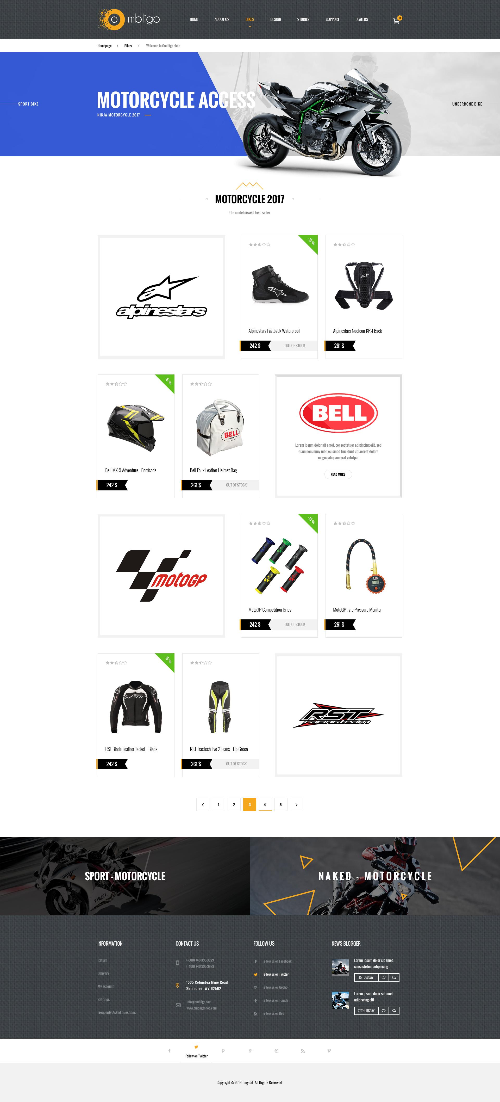 Ombligo shop multi concept motor cycle psd templates by tonydat ombligo shop multi concept motor cycle psd templates cheaphphosting Gallery