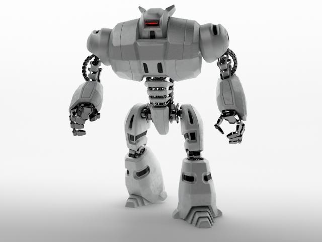 3D Model Robot Dg240