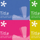 Flyer Asterisk with Text (different colors) - GraphicRiver Item for Sale