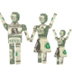 Happy Family Made From American One Dollar Bill - GraphicRiver Item for Sale