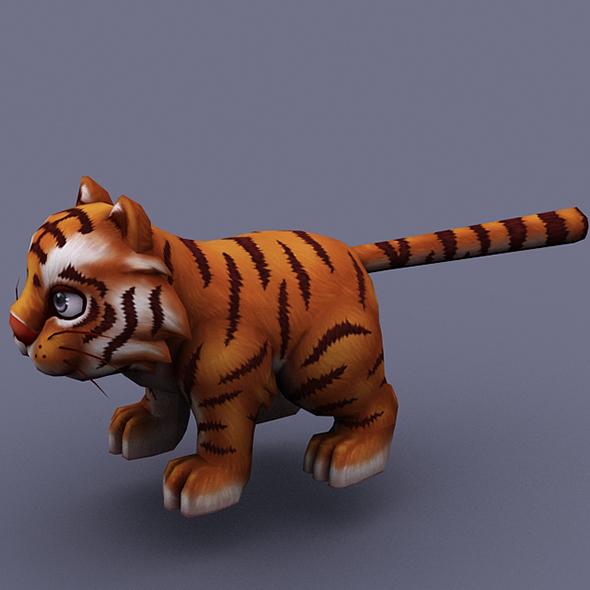 funny_cat_orange - 3DOcean Item for Sale
