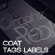 Mock-up: 010 (Coat Tags Labels) - GraphicRiver Item for Sale