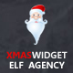 Xmas Widget - Elf Agency
