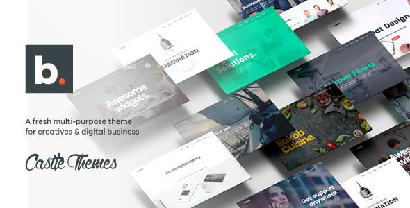 Bakob – Creative Multi-Purpose WordPress Theme