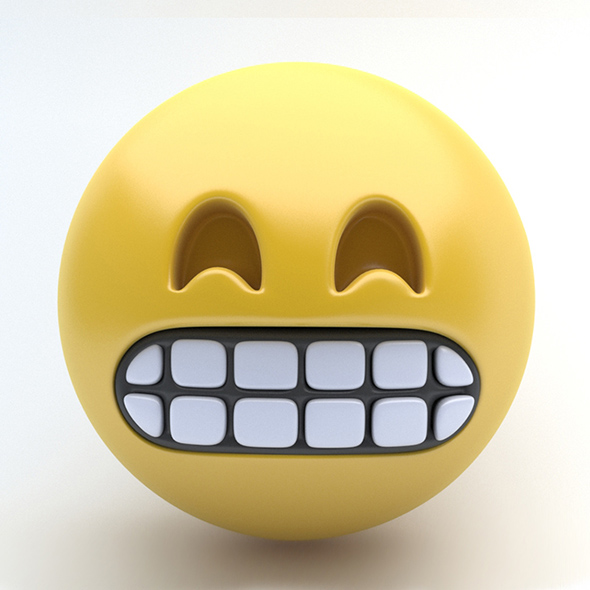 EMOJI Grimmace - 3DOcean Item for Sale