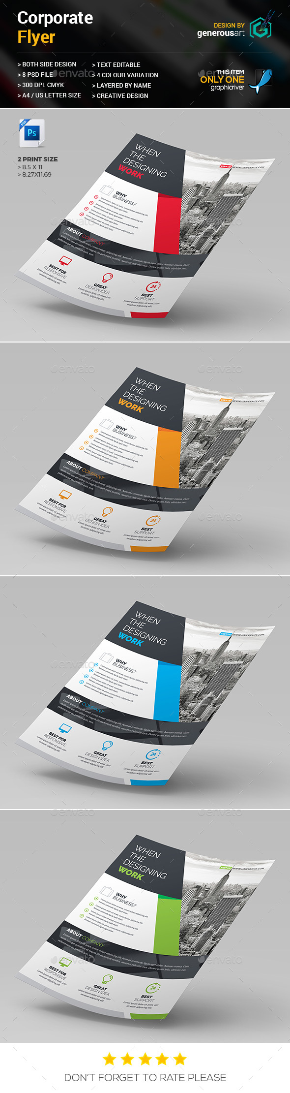 Flyers Design - Corporate Flyers