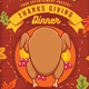 Thanksgiving Day Dinner Flyer - GraphicRiver Item for Sale