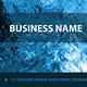 Glacier Business Cards - GraphicRiver Item for Sale