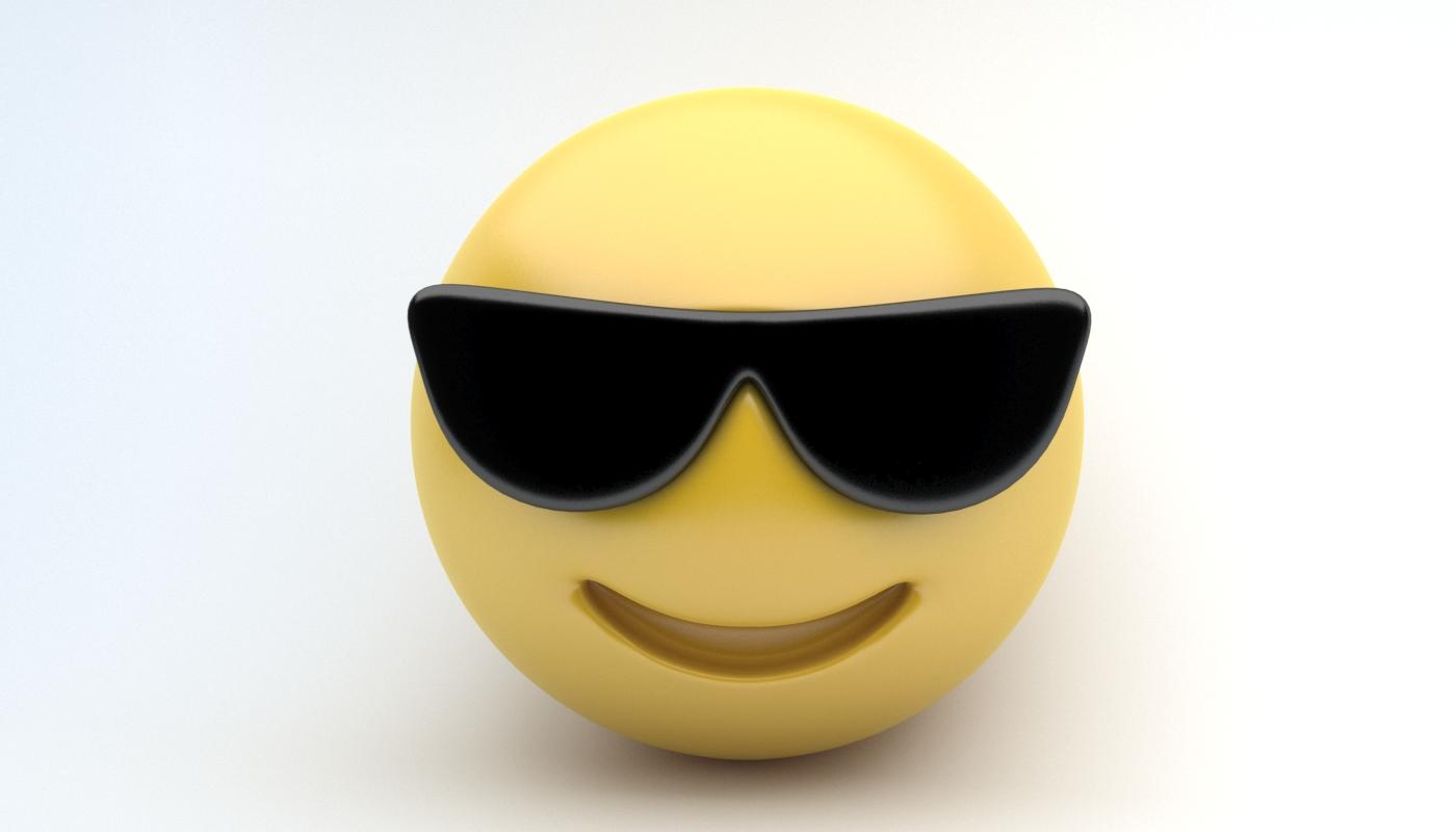 Emoji Sunglasses By Sanromangabriel 3docean