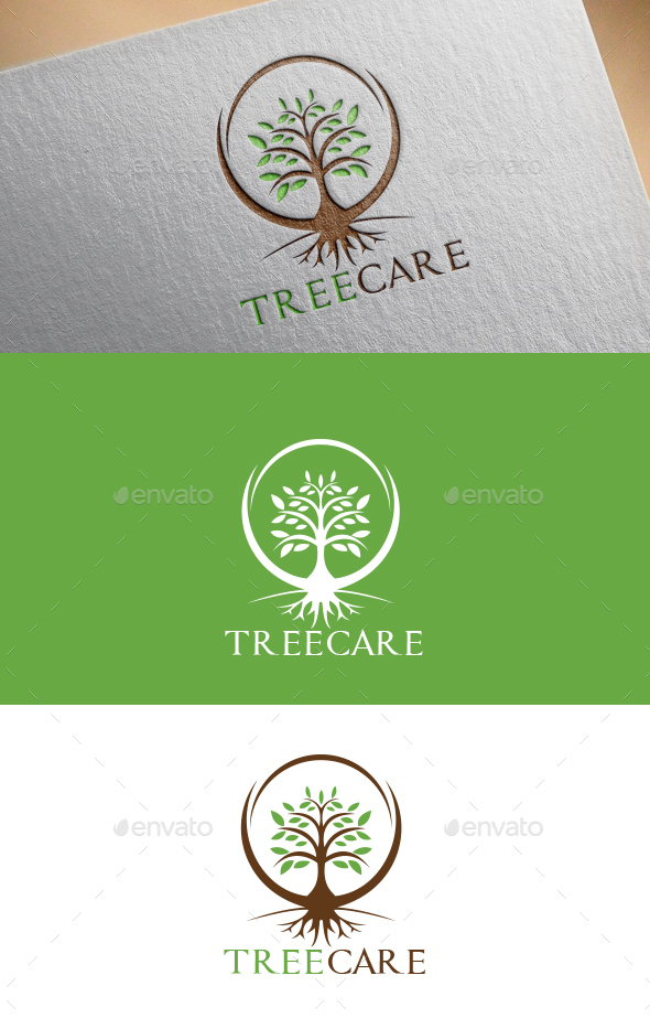 Tree Care Logo Template - Logo Templates