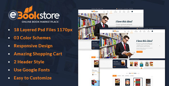 Book Store HTML Template – BookStore