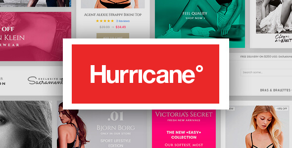 Hurricane – Fashion Magento 2 Theme