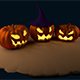 Halloween Pumpkins - 3DOcean Item for Sale