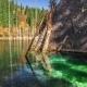 Lake Kaindy In Tyan-Shan Mountains, Kazakhstan - VideoHive Item for Sale
