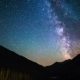 Milky Way Over The Kolsay Lake In Kazakhstan Mountains. - VideoHive Item for Sale