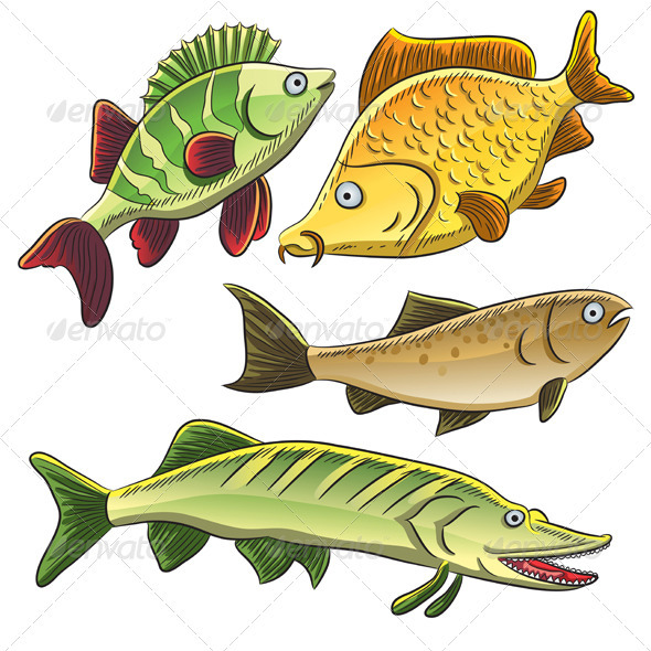 Fish Collection - Animals Characters