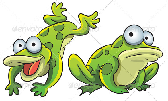 Funny Frog - Animals Characters