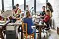 Teamwork Together Professional Occupation Concept - PhotoDune Item for Sale