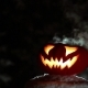 Burning Pumpkin On Halloween. Looped - VideoHive Item for Sale