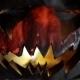 Burning Pumpkin On Halloween - VideoHive Item for Sale