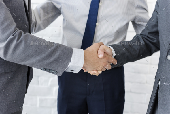 Business Team Handshake Collaboration Concept - Stock Photo - Images