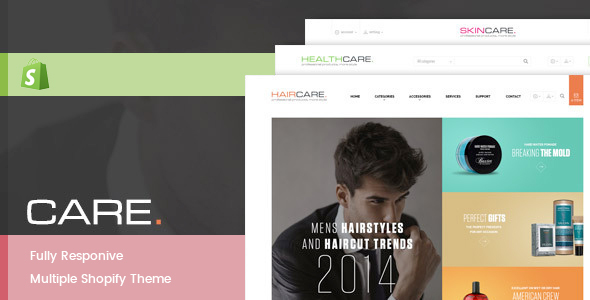 Leo Care Store Responsive Theme - Shopify eCommerce