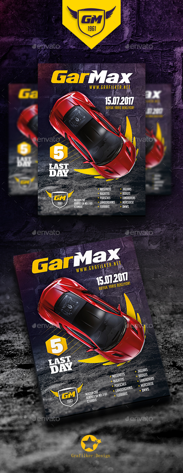 Auto Show Flyer Templates - Corporate Flyers