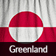 Ruffled Flag of Greenland - GraphicRiver Item for Sale