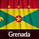 Ruffled Flag of Grenada - GraphicRiver Item for Sale