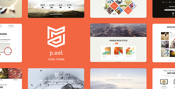 Pixel | Multipurpose Site Template