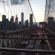 Manhattan Skyline From Brooklyn Bridge - VideoHive Item for Sale