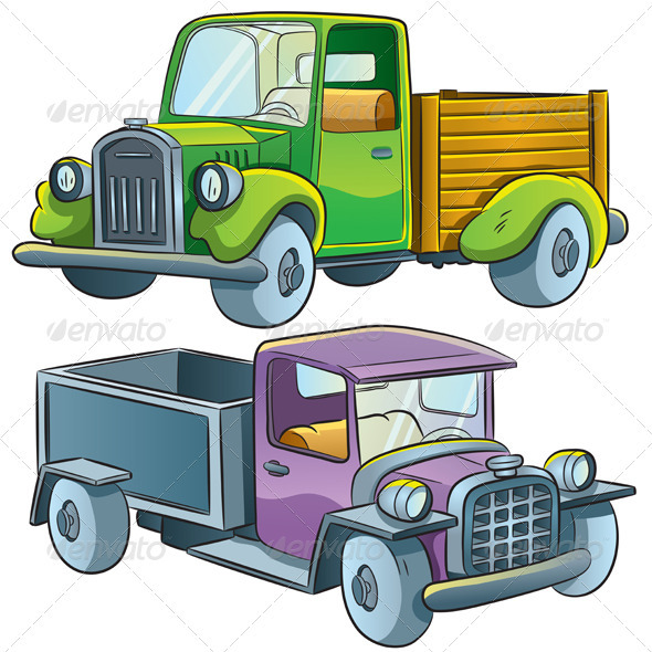 Truck Collection - Man-made Objects Objects