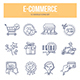 Ecommerce Doodle Icons - GraphicRiver Item for Sale