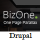 BizOne - One Page Parallax Drupal Theme - ThemeForest Item for Sale
