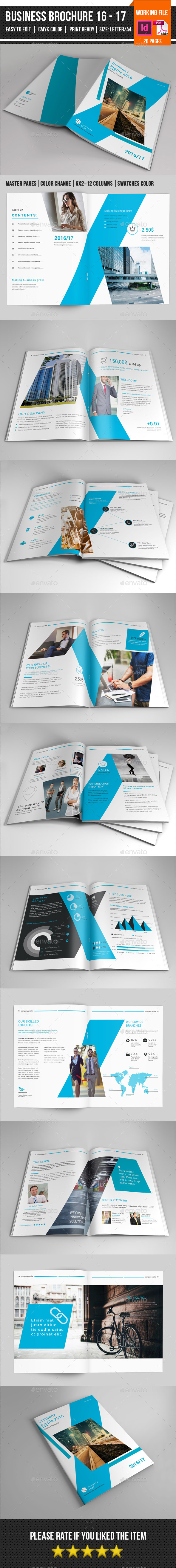 Business Brochure Template-V407 - Corporate Brochures