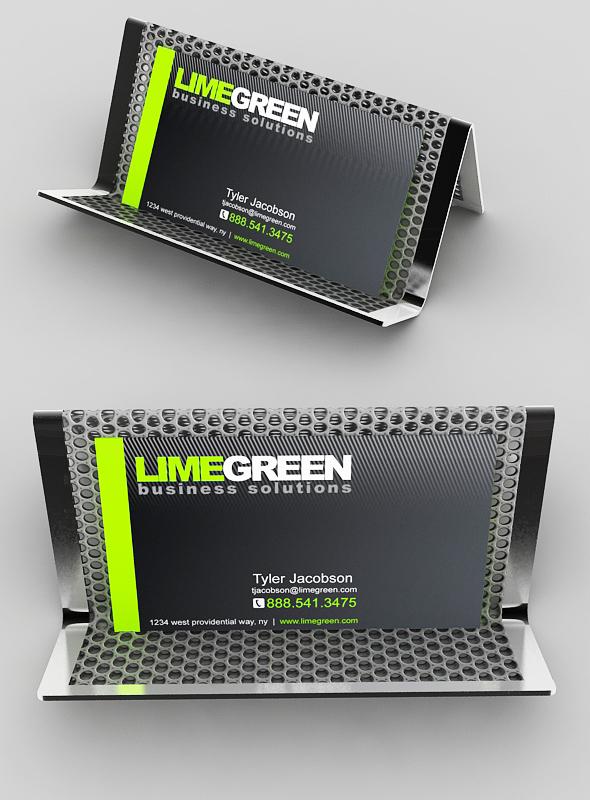 Business Card Holder - 3DOcean Item for Sale